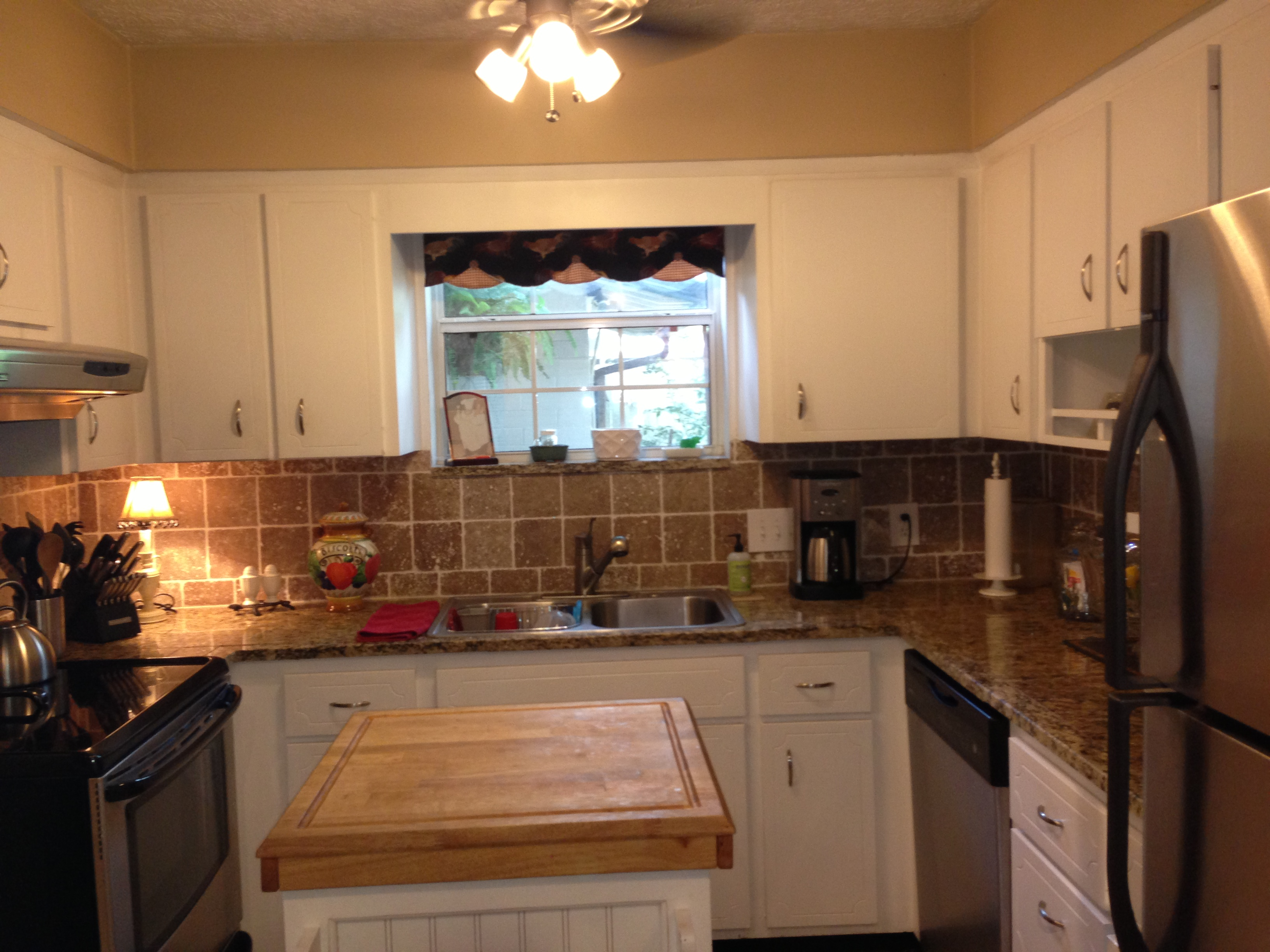 The previous owner's kitchen.