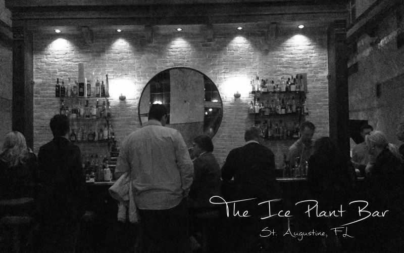 The Ice Plant Bar in St. Augustine was recently voted one of the best new bars in the South by Garden and Gun magazine.