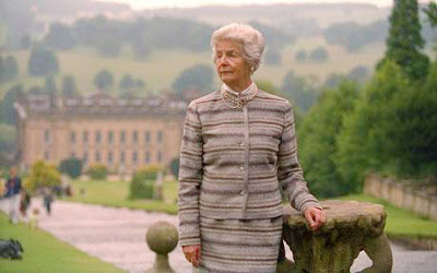 CHATSWORTH HOUSE, DERBYSHIRE. THE DUCHESS OF DEVONSHIRE - photo by Andrew Crowley