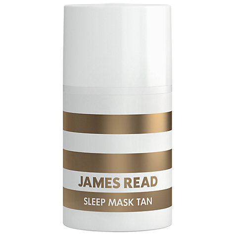 James Read's Sleep Mask Tan gives you a natural, sunkissed glow while you sleep!