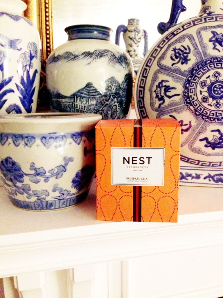 NEST's Pumpkin Chai candle is a limited edition.