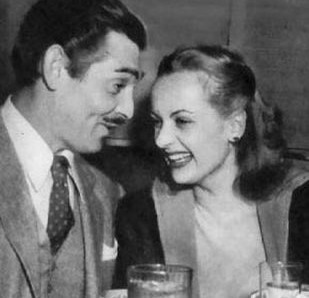 Carol Lombard and Clark Gable: Lombard was killed in 1942 in a plane crash, leading the grief-stricken Gable to join the army. He would go on to wear the diamond earring they found at the crash site on a necklace.  He chose to be interred next to her at Forest Lawn cemetery.