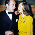 Bogart and Bacall were the epitome of Hollywood glamour.