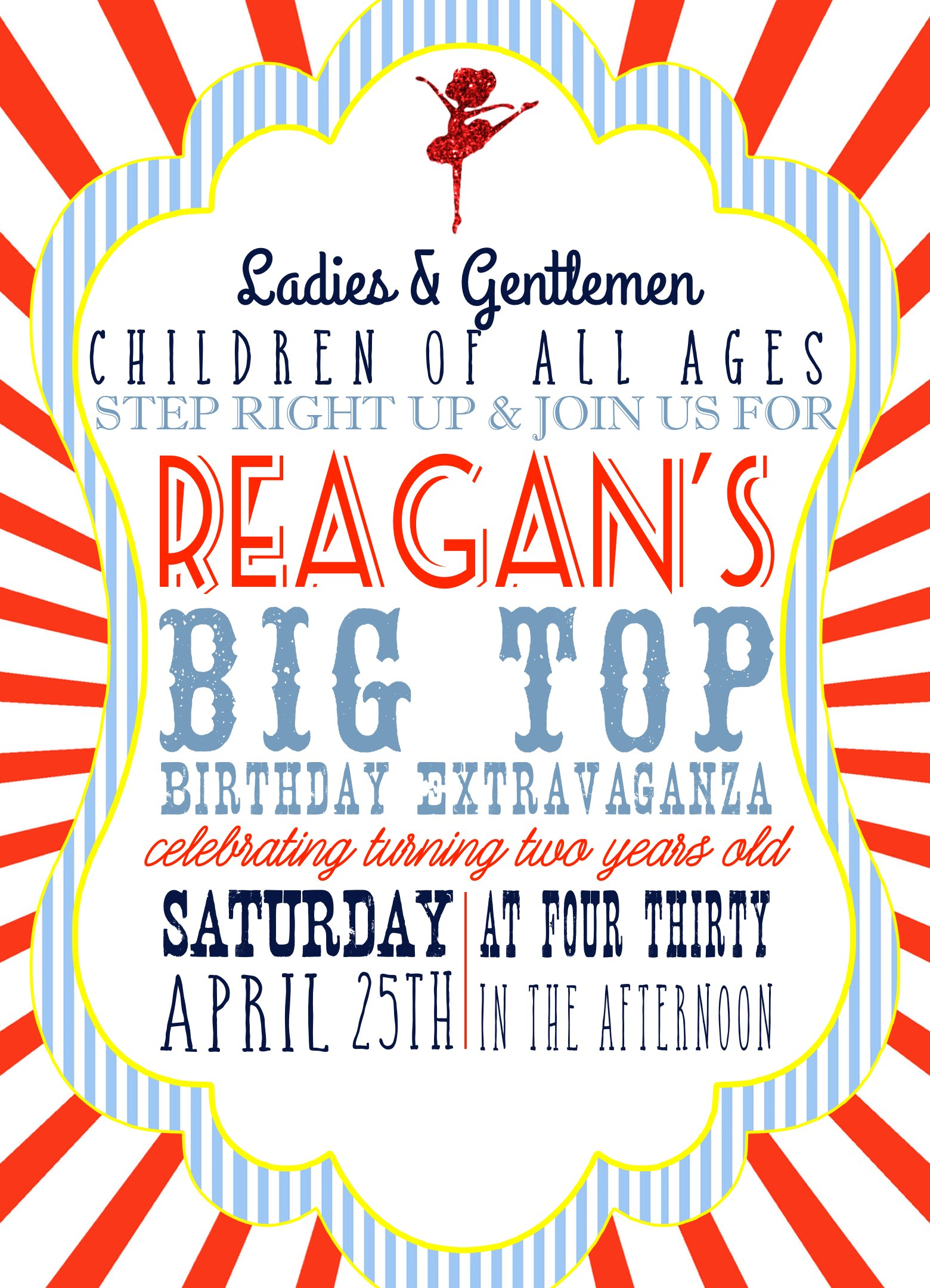 A Big Top Birthday Party Extravaganza