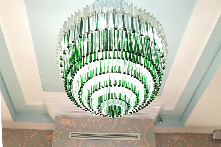 Chandelier of the Colony Hotel