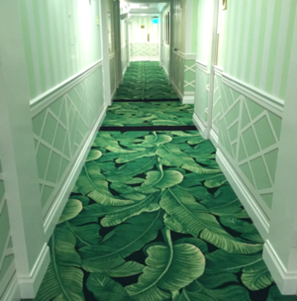 Hallway at The Colony Hotel