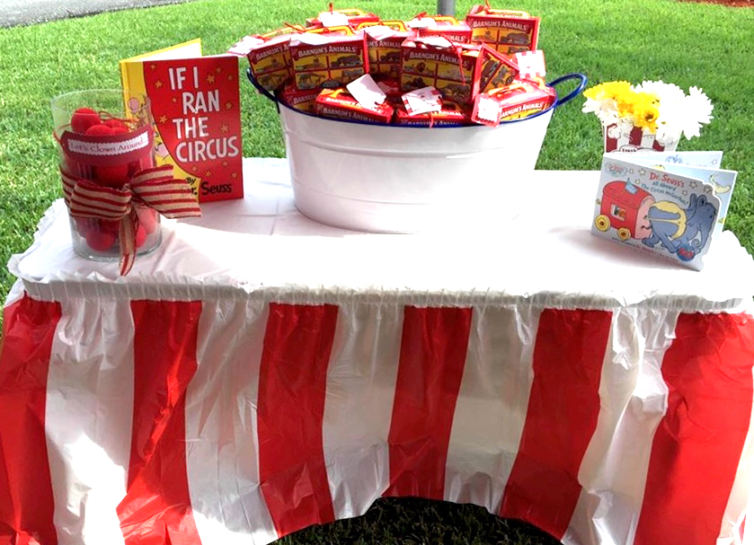 Circus Themed Birthday Party - Animal Crackers