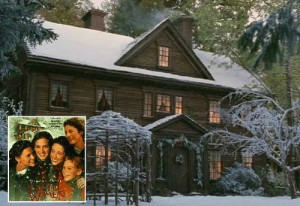 The recreated Orchard House for the 1994 movie, Little Women.
