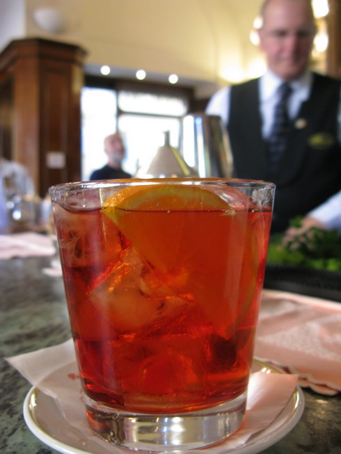 A Negroni ~photo from alcademics.com