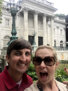 In front of Marble House