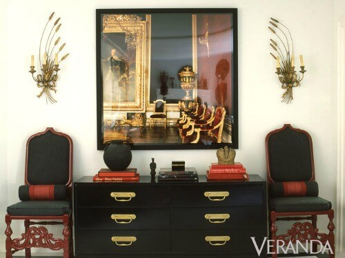 Foyer installation by Mary McDonald featured in Veranda