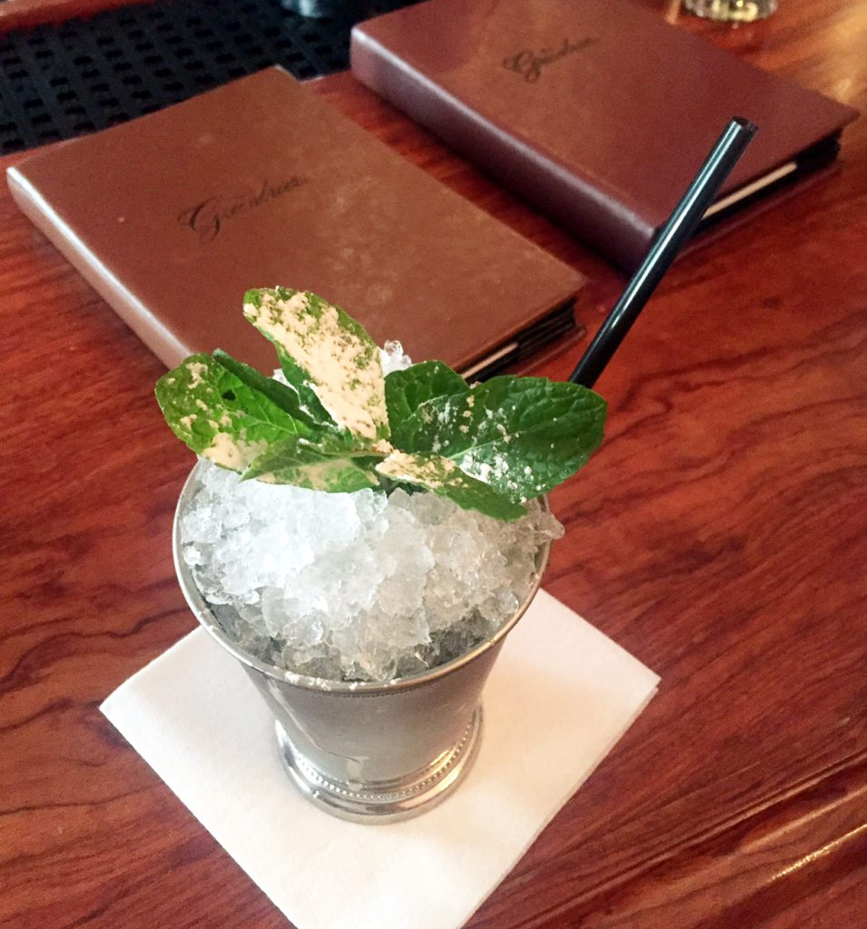 Mint Julep at the Greenbrier