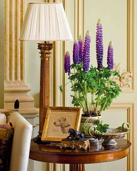 A corner in interior designer Timothy Corrigan's stunningly restored French chateau.